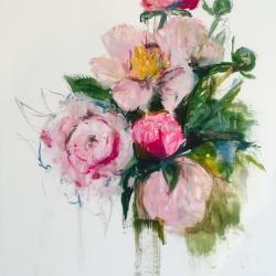 Madeleine Lamont - Pink Bouquet I