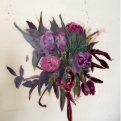 Madeleine Lamont - Purple Bouquet I