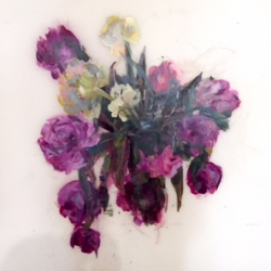 Madeleine Lamont - Purple Bouquet II