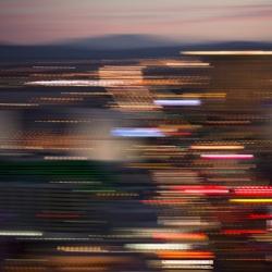 Angela Cameron - Evening Cityscape 4475