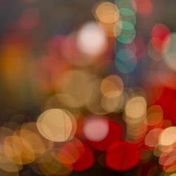 Angela Cameron - Vegas Lights Abstract 4411