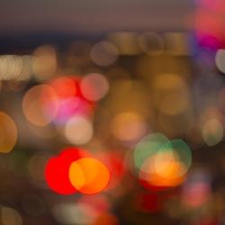 Angela Cameron - Vegas Lights Abstract 4591