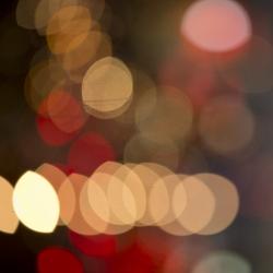 Angela Cameron - Vegas Lights Abstract 4592