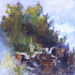 Masood Omer - Trees and Rocks 3