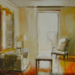 Hanna Ruminski - Room with Large Mirror