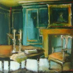 Hanna Ruminski - Room with a Fireplace