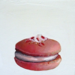 Erin Vincent - Pink Macaron with Topping