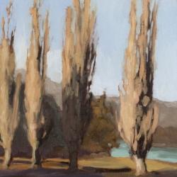 Maria  Josenhans - Poplars, Harrison Lake