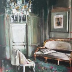 Hanna Ruminski - Interior with Louis XVI Sofa