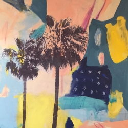 Danielle Hession - peaceful Palms
