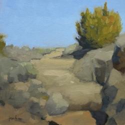 Maria  Josenhans - Trail At The Rio Grande