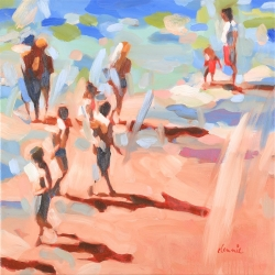 Elizabeth Lennie - Beach Life 5: Late in the Day