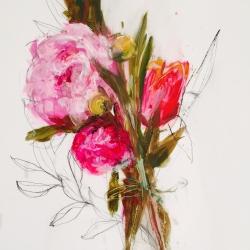 Madeleine Lamont - Pink Bouquet