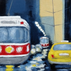 Rita Vindedzis - King West Traffic