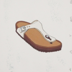 Christopher Hayes - Brown and White Sandal