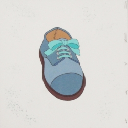 Christopher Hayes - Shoe with Blue Bow