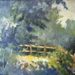 Masood Omer - Land and Trees 2