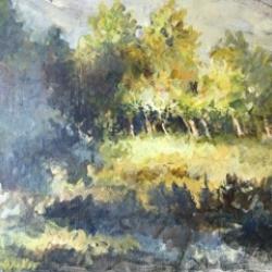 Masood Omer - Land and trees 3.