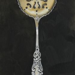 Lindsay Chambers - Strainer Spoon Dark