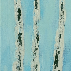 Rita Vindedzis - Winter Birches