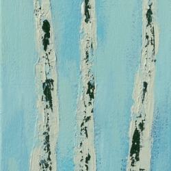 Rita Vindedzis - Winter Birches
