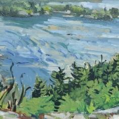 Todd Tremeer - Wind Ripples, Killarney Bay 2016