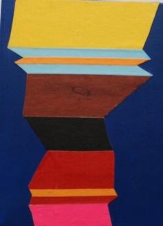 Zag Medium 1 by Janine Miedzik
