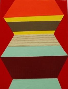 Zag Medium 2 by Janine Miedzik