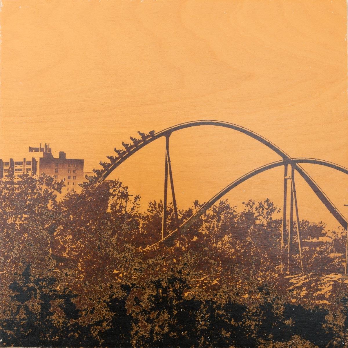 Joy Ride Orange #8 by Patrick Lajoie