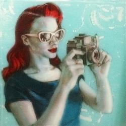 Kelly Grace - Red Holga