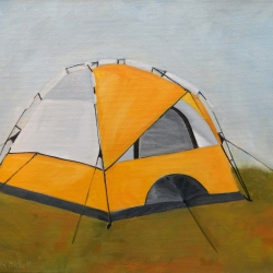 Emily Bickell - Yellow Tent