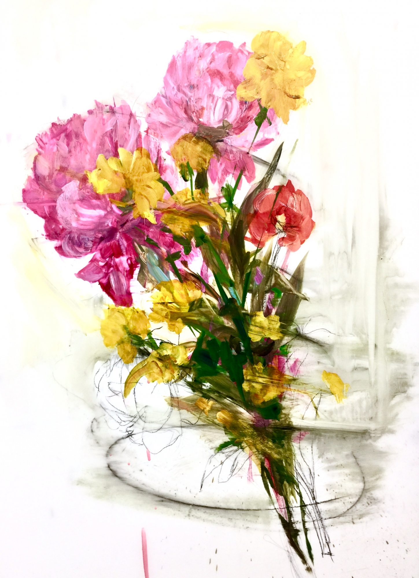 Large Floral  by Madeleine Lamont