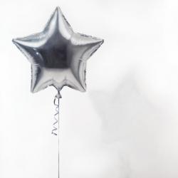 Dorion Scott - Untitled - Silver Balloon