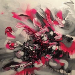 Francisco Gomez - There Upon the Dark of Night - Pink 2