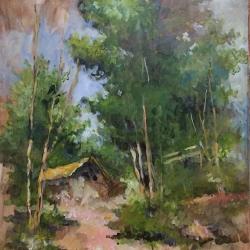 Masood Omer - Cabin Among the Trees