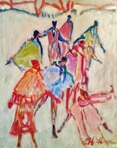 Country Skate-Celebrate by Susan McLean Woodburn