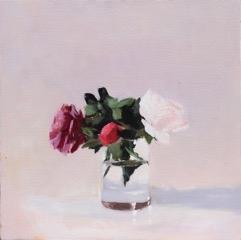 Pale Peony by Hilda Oomen