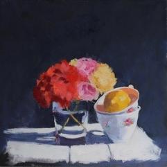 Hilda Oomen - Geranium & Cups
