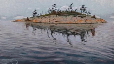 Overcast Island  by Mark Berens