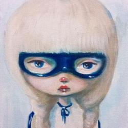 Kate Domina - Vigilante in Blue