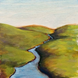 Emily Bickell - Spring Foothills 1