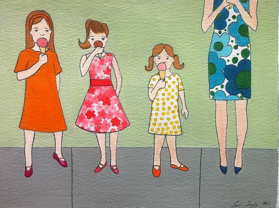 Going for Ice Cream II  by Lori Doody