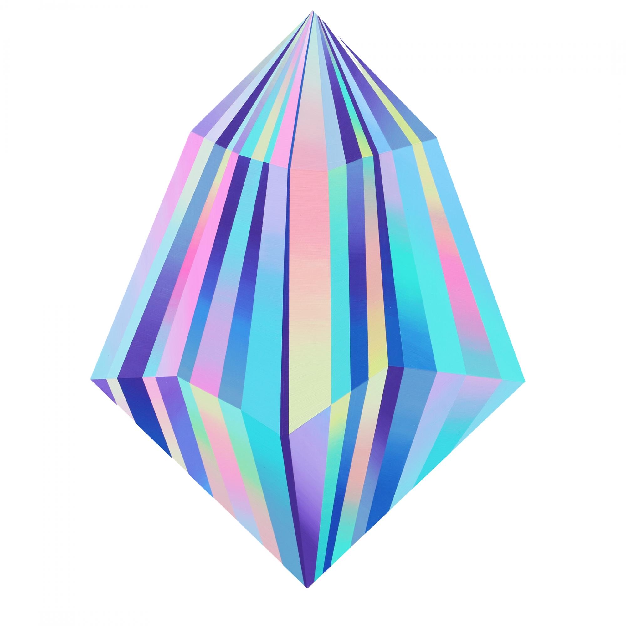 Warm Ice Crystal  by Kristofir  Dean