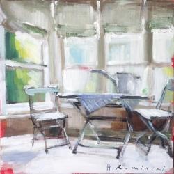 Hanna Ruminski - Interior with Watering Can