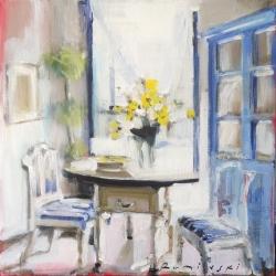 Hanna Ruminski - Blue Corner Cupboard