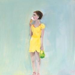 Frances  Hahn - Ice Cream Linda