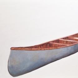 Erin Vincent - Vintage White Canoe