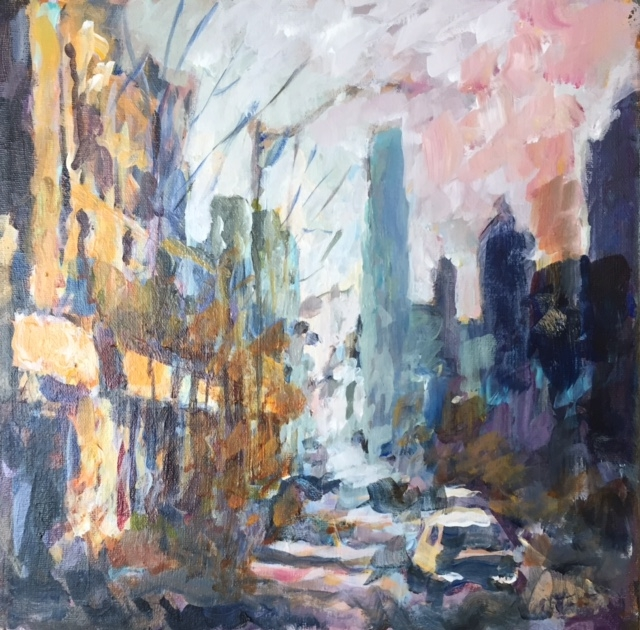 Bloor Street Awakens  by Masood Omer