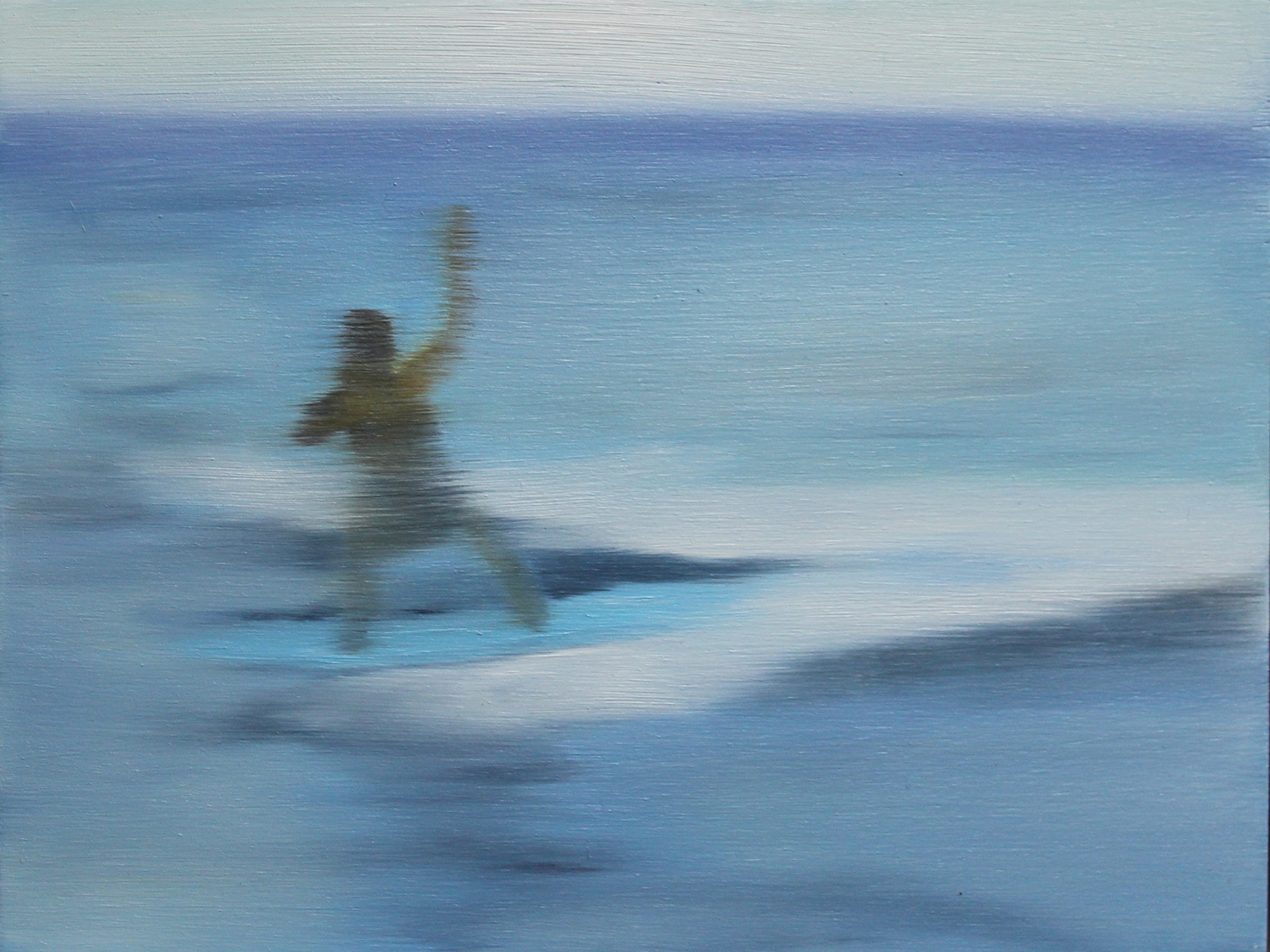 Surfing in Hawaii #7 by Shannon  Dickie