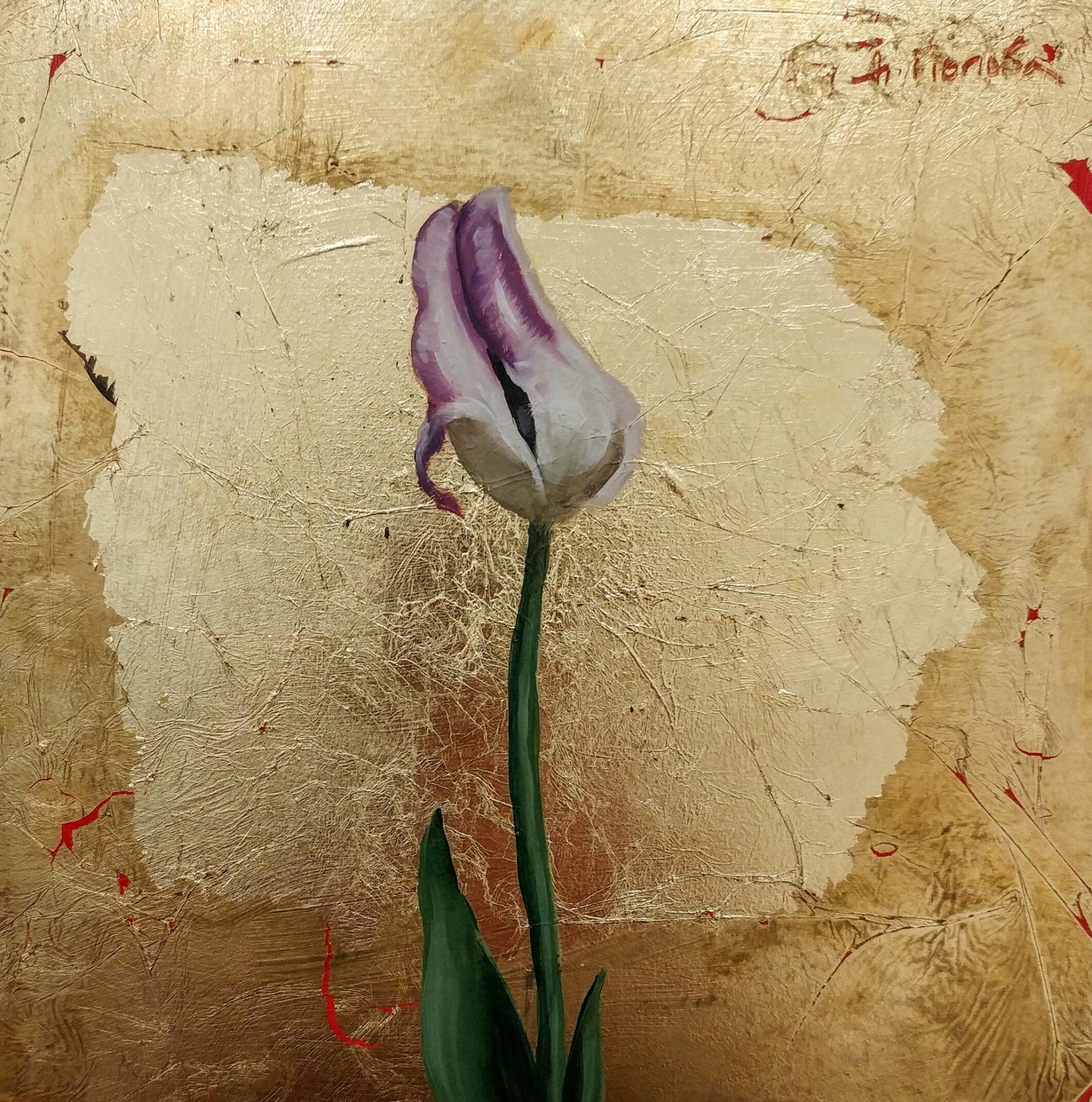 Byzantine Tulip II by Diliana Popova